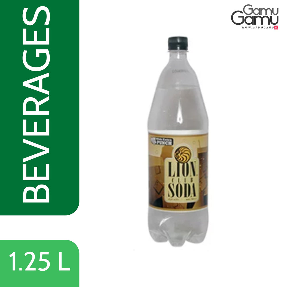 Lion Club Soda | 1.25 L,Foods, Coca-Cola - gamugamu.lk