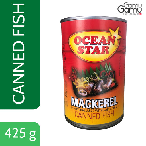 Ocean Star Mackerel Canned Fish | 425 g,Foods, Ocean Star - gamugamu.lk