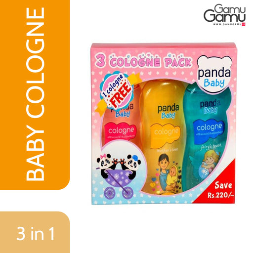 Panda Baby - Colonge  3 in 1  pack | 3 pcs,Toys, Kids & Baby - GamuGamu.lk