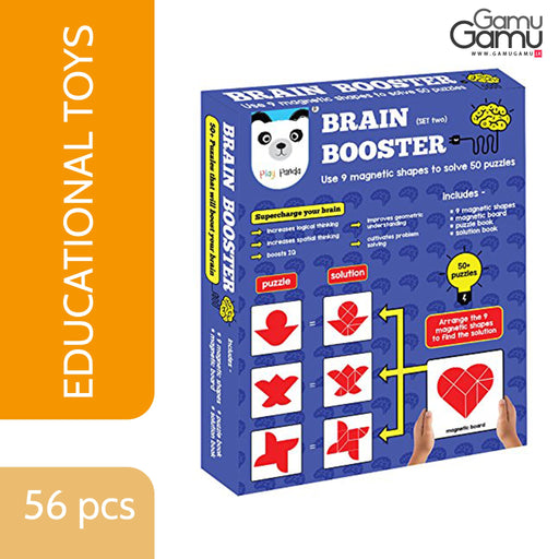 Play Panda - Brain Booster Big | 56 pcs,Toys, Kids & Baby - GamuGamu.lk
