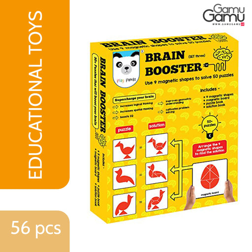 Play Panda - Brain Booster Small | 56 pcs,Toys, Kids & Baby - GamuGamu.lk