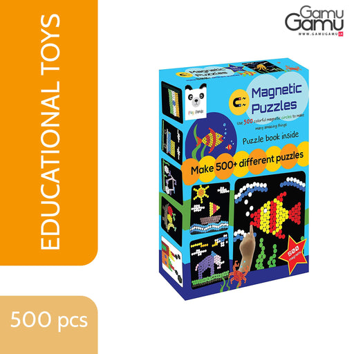 Play Panda - Magnetic Puzzle Big | 500 pcs,Toys, Kids & Baby - GamuGamu.lk