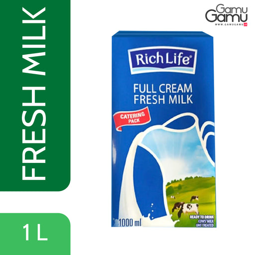 Rich Life Full Cream Milk | 1 L,Foods, Rich Life - gamugamu.lk