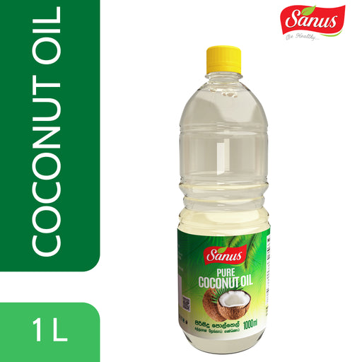 Sanus Pure Coconut Oil | 1000 ml,Foods, Sanus - gamugamu.lk