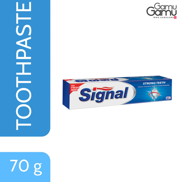 Signal Strong Teeth Toothpaste | 70 g,Personal Care - GamuGamu.lk