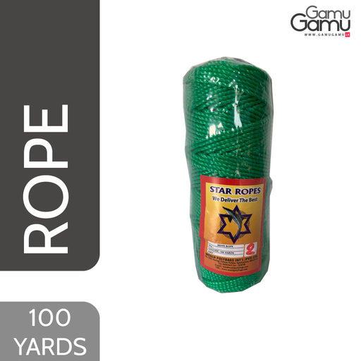 Star Ropes HDPE Rope (2mm) | 100 Yards-GamuGamu.lk
