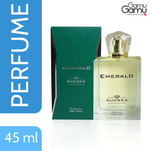 SUCSES Emerald Men's Perfume  | 45 ml,Personal Care - GamuGamu.lk