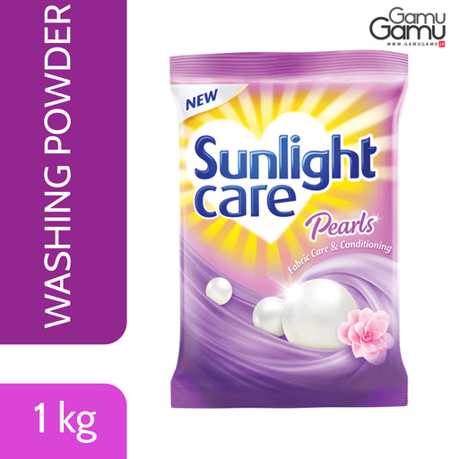 Sunlight Care Washing Powder | 1 kg,Home Care, Unilever - gamugamu.lk