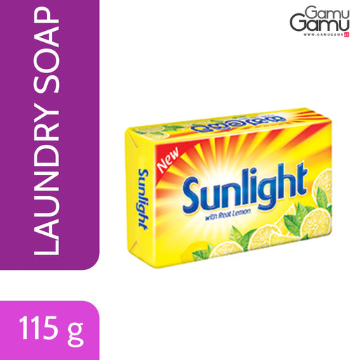 Sunlight Care Yellow Soap | 115 g,Home Care - GamuGamu.lk