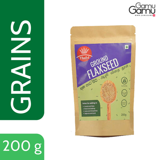 Thulsi Ground Flax Seed  | 200 g,Foods - GamuGamu.lk