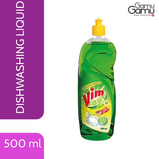 Vim Dishwashing Liquid | 500 ml,Home Care, Unilever - gamugamu.lk