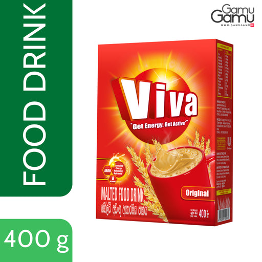 Viva Malted Food Drink (Box) ( | 400 g,Foods, Unilever - gamugamu.lk