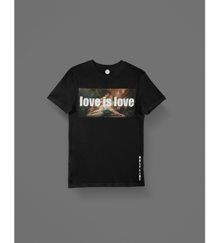 "T-SHIRT ""LOVE IS LOVE"""