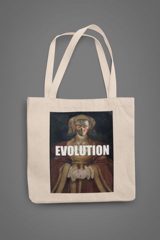 "Tote Bag "" EVOLUTION"""