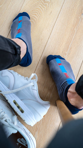 casual colorful ankle socks outfit   dstinctive