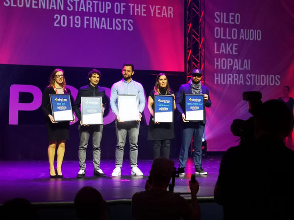 Startup of the year - OLLO Audio with Rok Gulič
