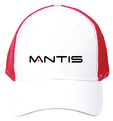 MANTIS Trucker Cap - RED/WHITE