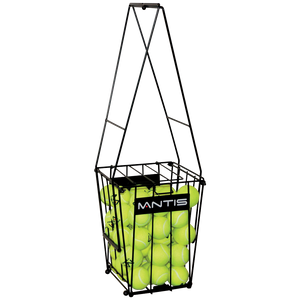 MANTIS Tennis Ball Pick Up Basket (Holds 72 Balls)