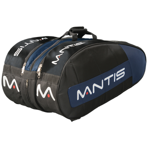 MANTIS Racquet Thermo Bag - Black/Blue 12-Pack