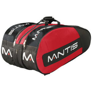 MANTIS Racquet Thermo Bag - Red/Black 12-Pack