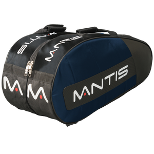 MANTIS Racquet Thermo Bag - Blue/Black 6-Pack