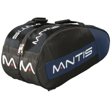 MANTIS Racquet Thermo Bag - Black/Blue 6-Pack