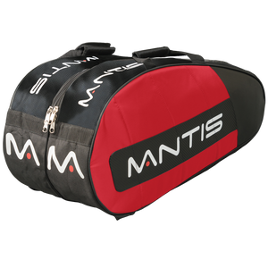 MANTIS Racquet Thermo Bag - Red/Black 6-Pack