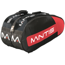 Load image into Gallery viewer, MANTIS Racquet Thermo Bag - Black/Red 6-Pack