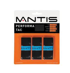 MANTIS Performa Tac Overgrip - Black (3x)