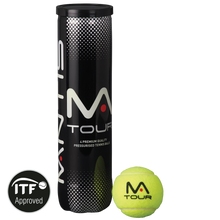 Load image into Gallery viewer, MANTIS Tour Tennis Balls (4 Can)