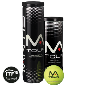 MANTIS Tour Tennis Balls (3 Can)