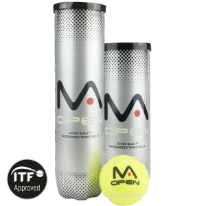 MANTIS Open Tennis Balls (4 Can)