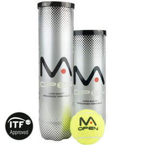 MANTIS Open Tennis Balls (3 Can)