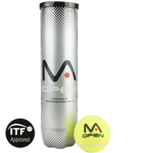 Load image into Gallery viewer, MANTIS Open Tennis Balls (4 Can)