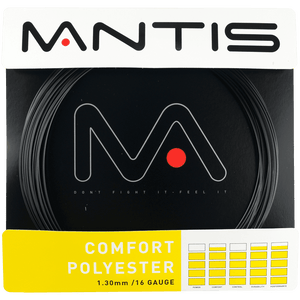 MANTIS Comfort Polyester String Set- Black (12m)