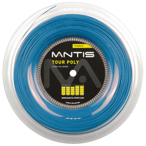 MANTIS Tour Polyester String Reel- Sky Blue (200m)