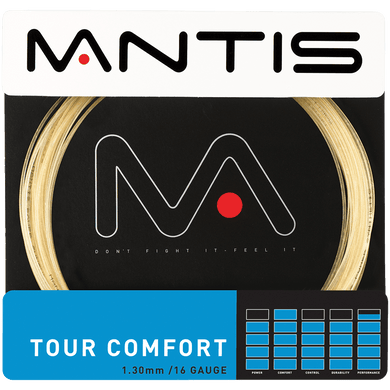 MANTIS Tour Comfort String Set- Amber 1.30mm (12m)