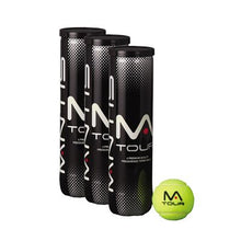 Load image into Gallery viewer, MANTIS Tour Tennis Balls - VALUE PACK (3 CANS OF 4, 1 DOZEN BALLS)