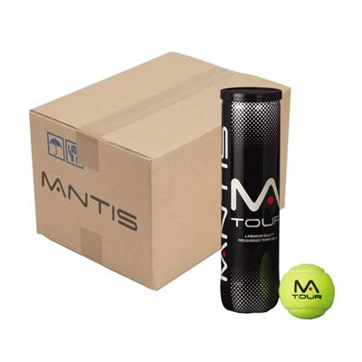 MANTIS Tour Tennis Balls - BOX OF 72 BALLS