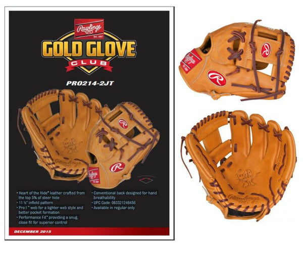 "Rawlings Special Edition ""Heart of the Hide"" Pro Preferred Infield Glove"