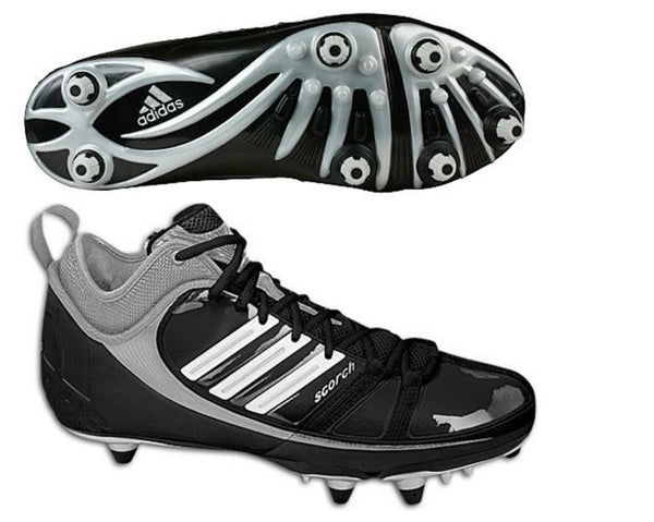 adidas Scorch 9 D Mid Football Cleats