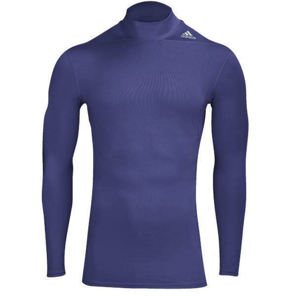 Adidas Men's Compression Techfit CLIMAWARM Base Layer Mock