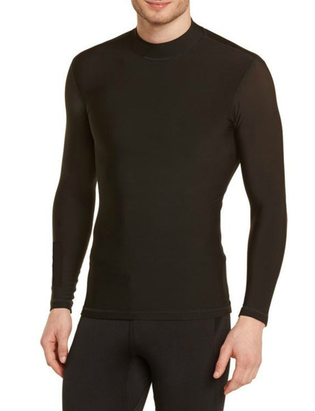 RUSSELL ATHLETIC MEN'S DRI-POWER COLD WEATHER MOCK TURTLE NECK SHIRT