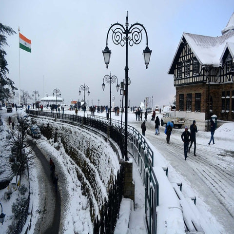 Shimla-Kulu-Manali Tour 6 Days