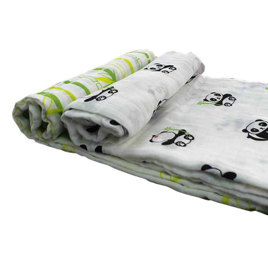 Playful Panda Swaddle