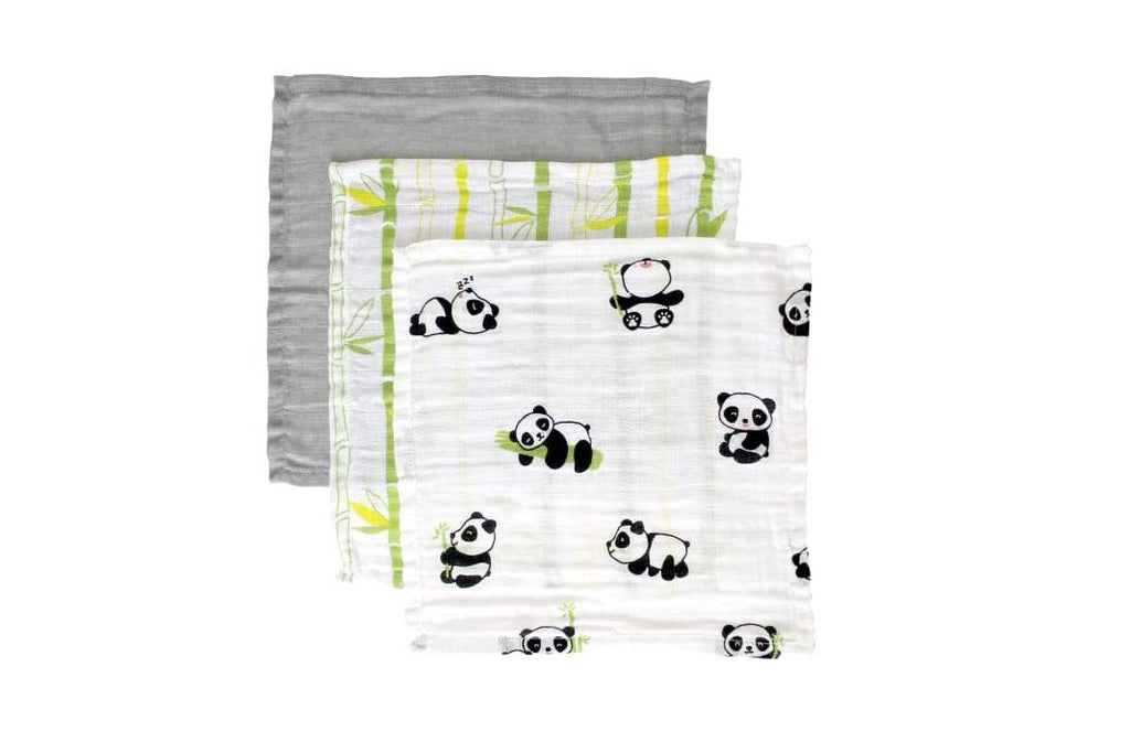 Playful Panda Wash Cloth/Napkin