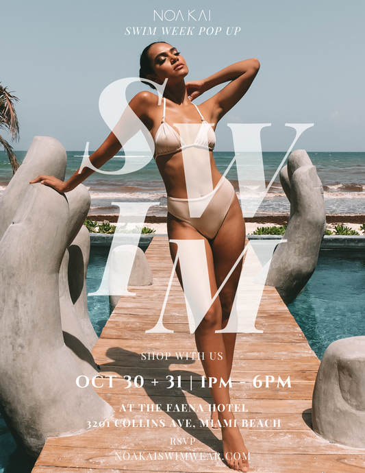 RSVP to Swim Week Pop Up - Oct 30 & 31