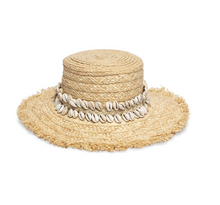 Load image into Gallery viewer, Boheme Raffia Boater Hat