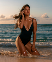 Load image into Gallery viewer, Noa Kai Gisele One Piece in Midnight Black