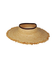 Load image into Gallery viewer, Porto Heli Raffia Visor